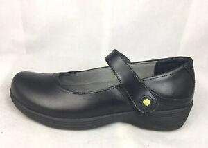 Clover Mary Jane Slip Resistant Black