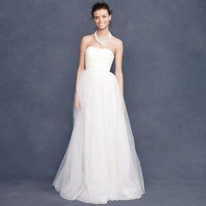 J Crew Wedding Dress.Details About Nwt 3 000 J Crew Bridal Palais Wedding Dress Gown Sz 8