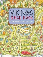 Steven Axelsen Viking Maze and Puzzle Book Very Good Book