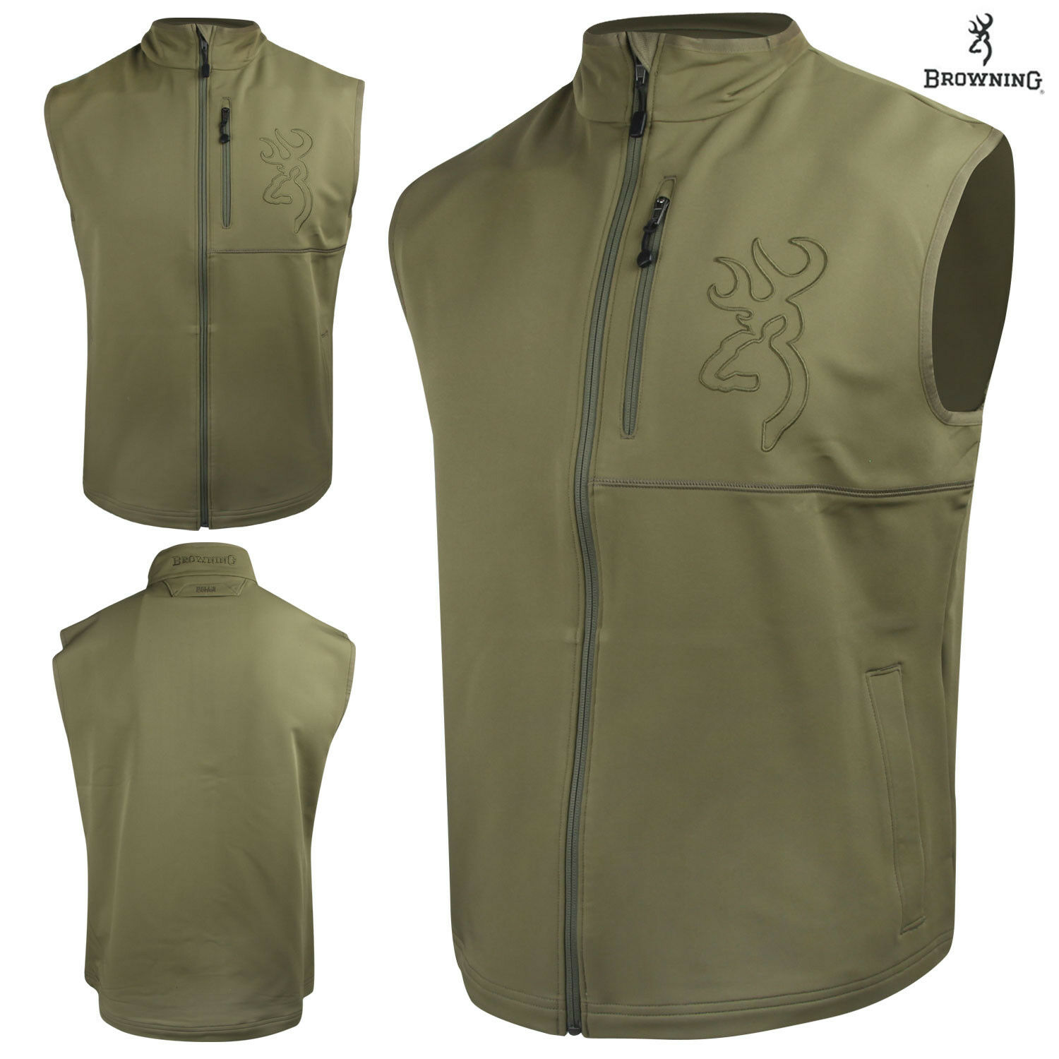Browning  Hell's Canyon Mercury Vest (L)- Capers  large selection