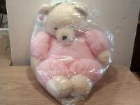 Dakin Plush Cream Teddy Bear