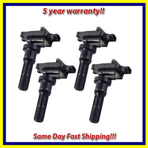 Ignition-Coil-4PCS-for-2004-2005-Mitsubishi-Lancer-2-0L-L4-UF523-7805-3563