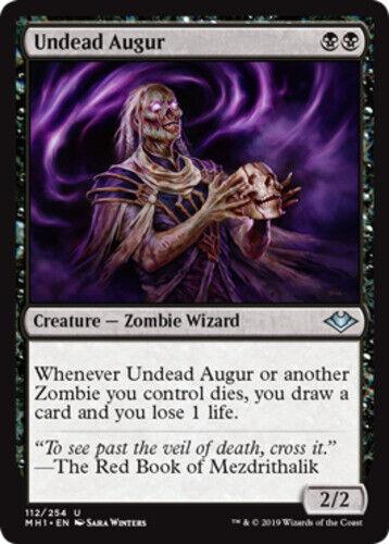 x4 Undead Augur MTG Modern Horizons U M//NM English