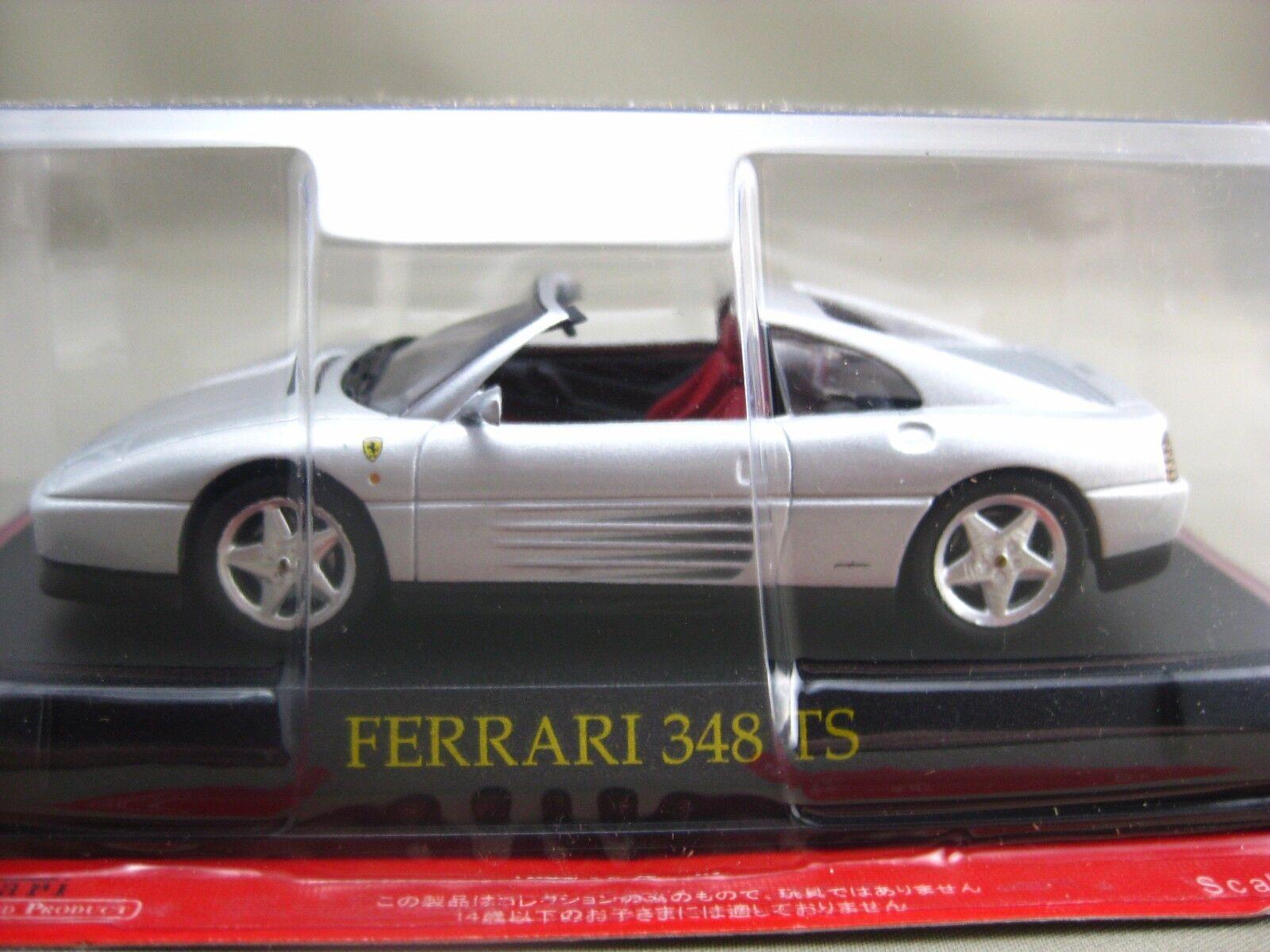 Ferrari 348 TS hachette 1 43 Diecast voiture  Vol.33  au prix le plus bas
