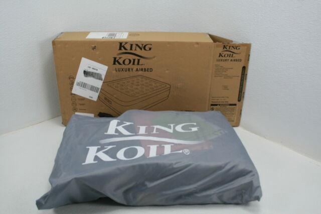 King Koil Queen Air Mattress Built in Pump Best Inflatable ...