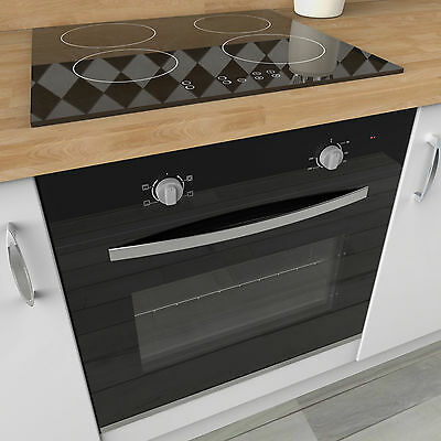 MyAppliances REF50406 60cm Electric Static Oven & 60cm Induction Hob Pack