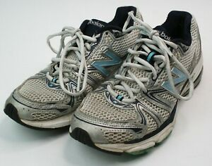 New-Balance-759-women-039-s-running-shoes-size-8-white-grey-blue-silver