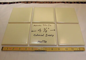 PcsColonial IvoryVintage Ceramic Tilesmade By The Mosaic - Ceramic tile stores maryland