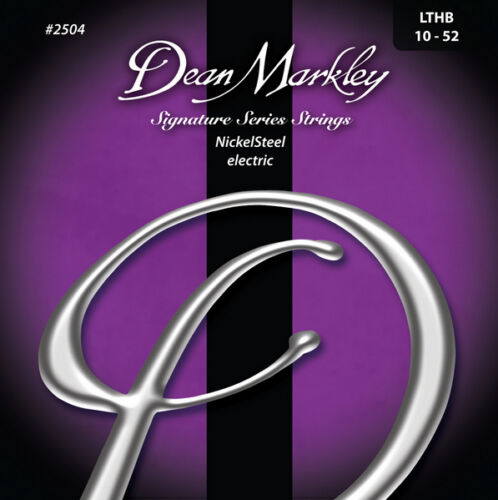 010-052 - Nickel Saiten E-Gitarre light top//heavy bottom Dean Markley 2504