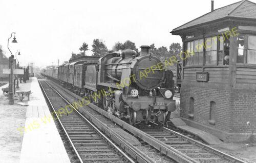 Aldershot North Camp Guildford 1 Ash Railway Station Photo SE/&CR.