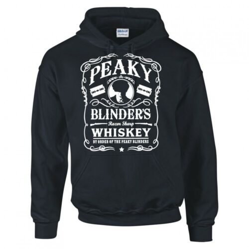 """PEAKY BLINDERS INSPIRED /""""WHISKEY LOGO/"""" HOODIE"""