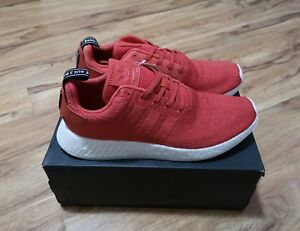 Adidas-NMD-R2-Red-Boost-UK11-US11-5-100-Authentic