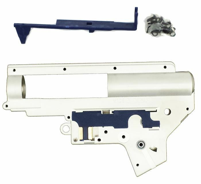 AIRSOFT AEG LONEX 8MM GEARBOX MIKE4 V2 VERSION VERSION VERSION 2 CHROMIUM PLATED UK DELIVERY 887394