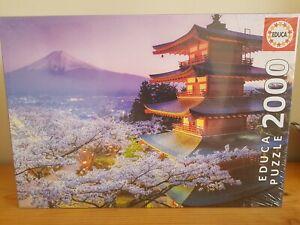 Nuevo-Educa-Monte-Fuji-Japon-Rompecabezas-2000-piezas-96-X-68cm