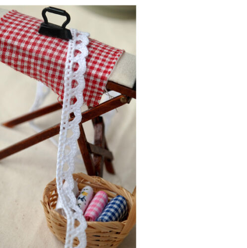 "1cm YH038 laceking2013 3yds Broderie Anglaise cotton lace Crochet Trim 0.4/"""