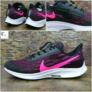 Nike-Air-Zoom-Pegasus-36-flyease-WOMEN-039-S-in-esecuzione-Scarpe-Da-Ginnastica-UK-4-5-EUR-38