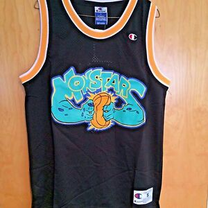 f28bc70fcb3 Image is loading Monstars-0-Space-Jam-Basketball-Jersey-Black-Michael-