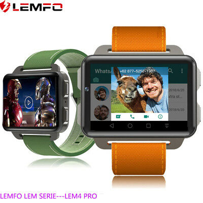 Lemfo LEM4Pro Reloj Inteligente Android Smartwatch IOS 16G WIFI GPS Podómetro