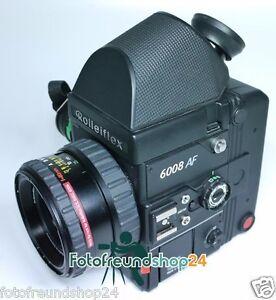 Rollei-Rolleiflex-6008-AF-Schneider-Xenotar-2-8-80-PQS-45-Prismensucher