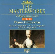 The Masterworks Vol.13-Wolfgang Amadeus Mozart Piano Concerto K450,K413,K488 CD