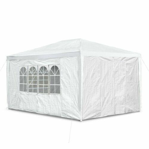 New 3x3m 4 6m 130g Waterproof Outdoor PE Garden Gazebo Marquee Canopy Party Tent