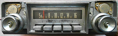 1965 TO 1967 CHRYSLER NEWPORT MOPAR AM RADIO - USED
