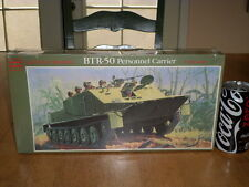 RUSSIAN, BTR-50 PERSONNEL ARMORED CARRIER -TANK, Plastic Model Kit , Scale 1/32