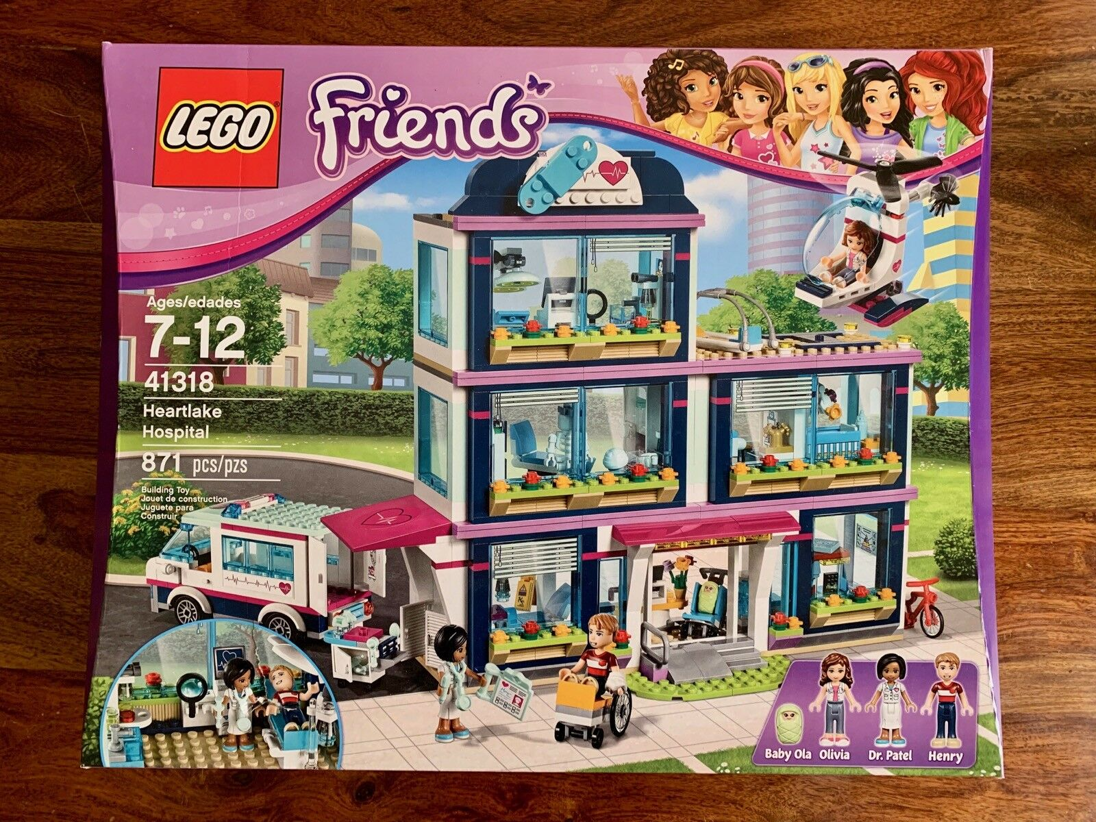 nouveau LEGO Friends Heartlake Hospital 41318 Building Kit (871 Piece)   parfait