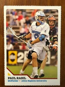 Paul Rabil - Lacrosse - Sports Illustrated For Kids card