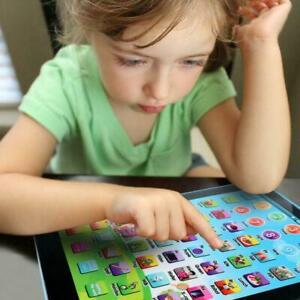 Kinder-Laptop-Tablet-Pad-paedagogisches-Lernspielzeug-fruehen-Lernspielzeug-U3X6