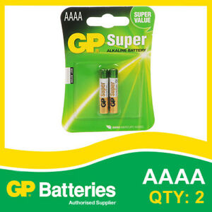 GP-Super-Alkaline-AAAA-Battery-25A-card-of-2-AUDIO-DEVICES-SMOKE-ALARM