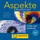 Aspekte 2 (B2) - 3 Audio-CDs zum Lehrbuch 2 von Tanja Mayr-Sieber, Helen Schmitz, Ute Koithan und Ralf Sonntag (2013)