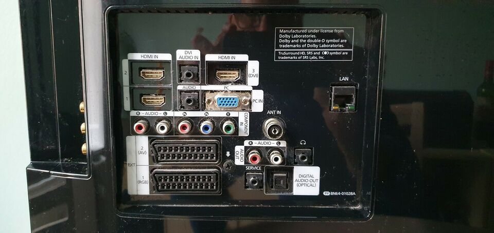 LCD, Samsung, LE40B650T2PXXN