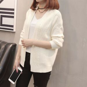 manteau court en tricot femme
