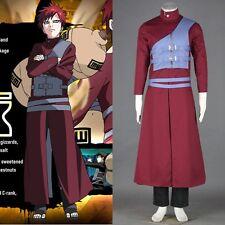 New Naruto Gaara Cosplay Costume Handmade Full Set