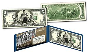 1896-EDUCATIONAL-SERIES-Designed-NEW-Legal-Tender-Modern-Two-Dollar-2-Bill-COA