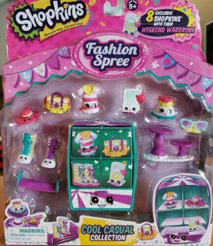 Shopkins Season 3 FASHION SPREE COOL CASUAL 8 Limited Exclusive Edition