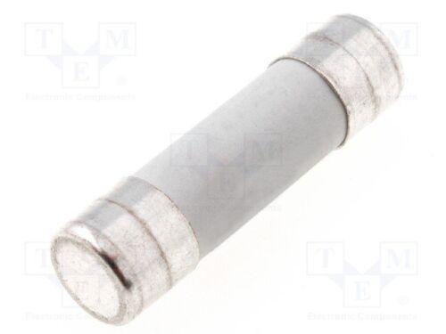 Sicherung Schmelz; gG; Keramik 1 st Industrie; 1A; 500VAC; 10,3x38mm