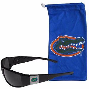 9c3c83e49d24 Image is loading Florida-Gators-Chrome-Wrap-Sunglasses-with-Microfiber-Bag-