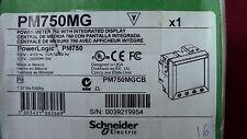 CENTRALE de MESURE PM750 MG  4 Poles SCHNEIDER   POWER LOGIC-