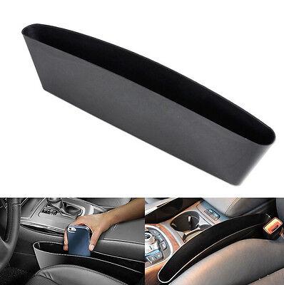 HOT Universal Car Black Seat Seam Storage Box Slit Pocket Phone Holder Organizer