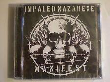 Impaled Nazarene - Manifest(CD, 2007)BEHERIT ARCHGOAT BESTIAL MOCKERY REVENGE