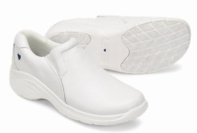 Nurse Mates White Leather Medical