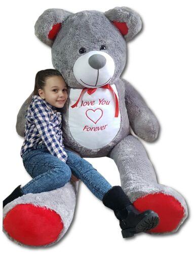 XXL Teddybär Plüsch Groß 200cm Kuschel Stoff bär Plüschbär Teddy