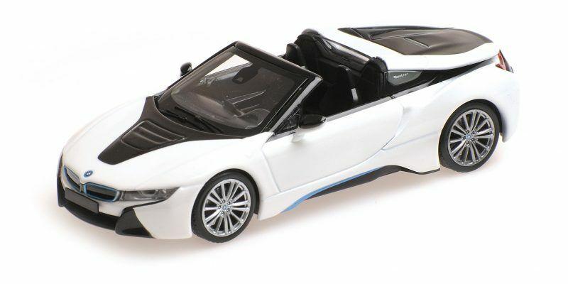 Bmw I8 Roadster I15 blanc Metallic 2017 1 43 Model  MINICHAMPS  Envoi gratuit pour toutes les commandes