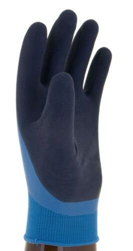 Wonder Grip Gloves Aqua Latex Waterproof