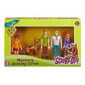 Nouveau Scooby Doo Mystery Solving Crew 5 Figurine Articulee