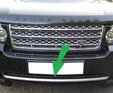Titanium front bumper trim strip Range Rover L322 Vogue 2010 on supercharged new