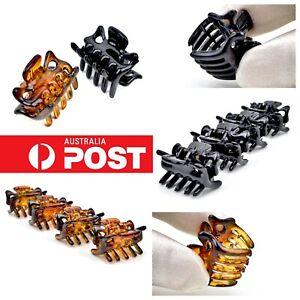 15pc-2-5cm-Hair-Claw-Small-Jaw-Clamp-Styling-Hairclip-Grip-Clips-Women-Ladies