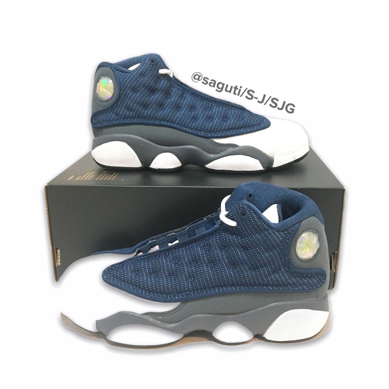 Nike Air Jordan Retro 13 Flint PS Kids Size 2y Shoes 414575-404